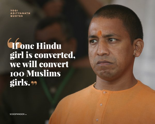 13 Times It Was Quite Evident That Yogi Adityanath Was