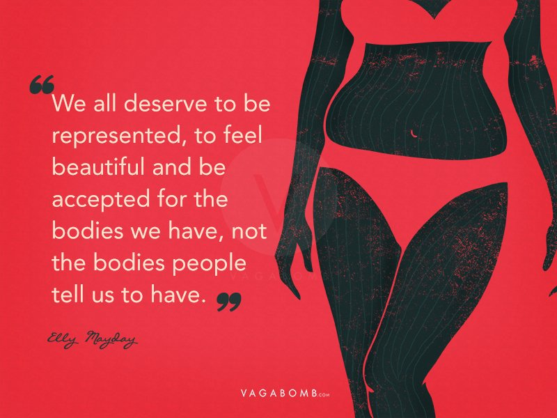 60 Quotes By PlusSized Women On Loving Their Bodies That'll Remind Cool Body Image Quotes