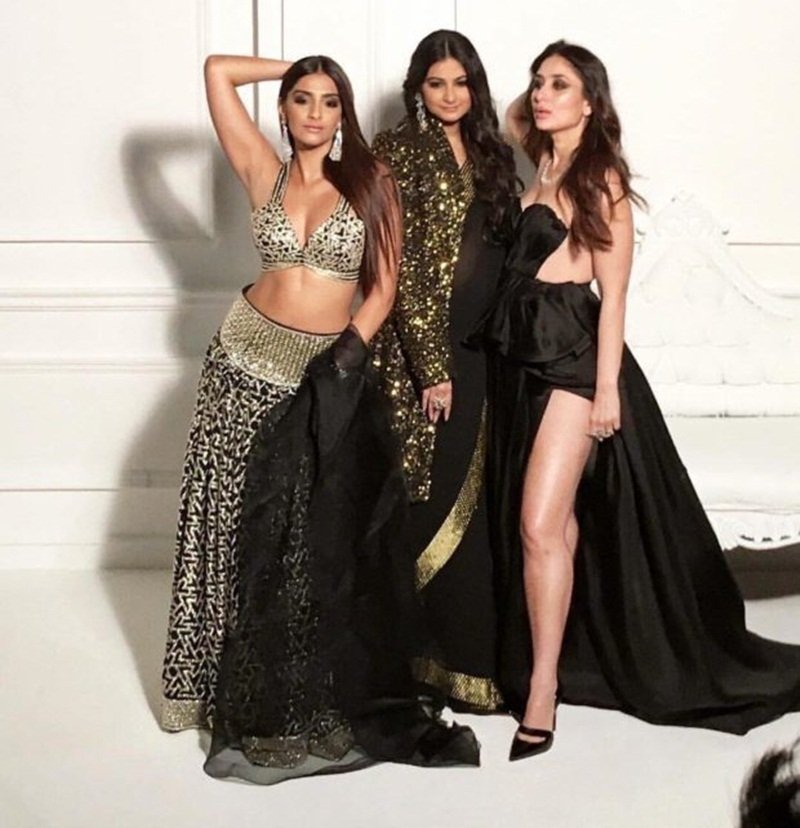 Veere Di Wedding Outfits.30 Looks From The Veere Di Wedding Stars That Will Give You Some