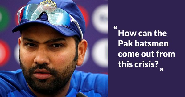A Journo Asked Rohit How He'd Revive Pak's Batting & His Answer Had The Entire Room In Splits