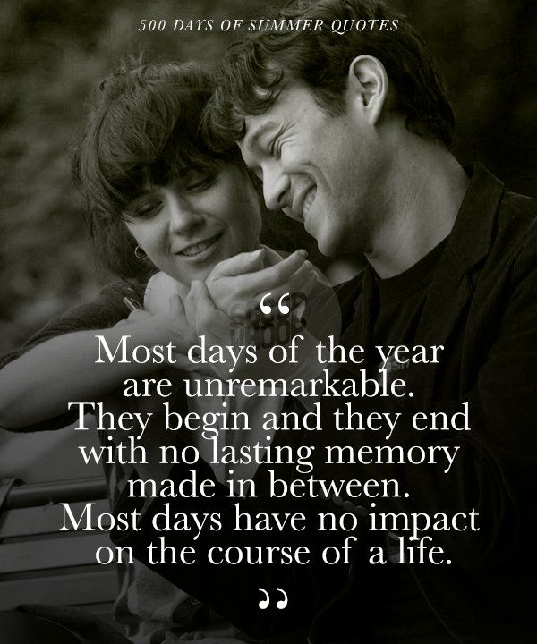 Quotes About Love: These 21 Quotes From '500 Days Of Summer' Take A Realistic
