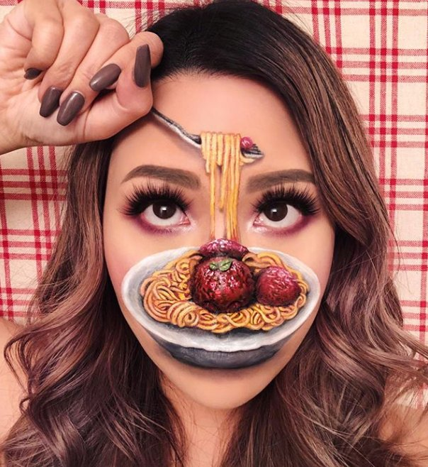 This Makeup Artist Creates Optical Illusions With Cosmetics The Results Will Mess With Your Head