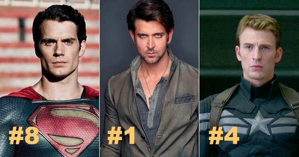 Hrithik Roshan Beats Superman  Captain America To Become -6589