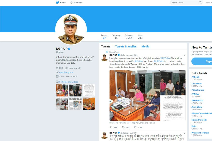 Class X Student From UP Creates Fake Twitter Account Of ...