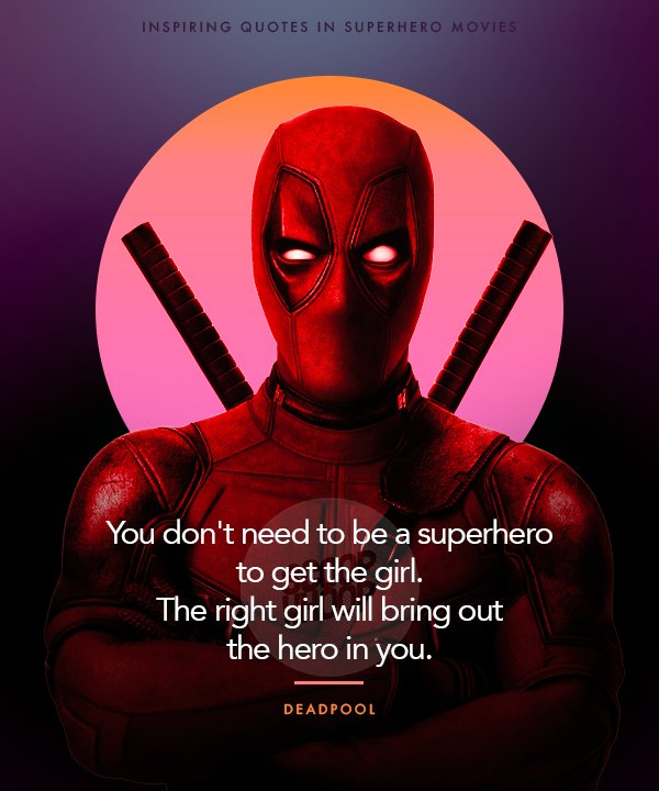 Superhero Quotes 20 Inspiring Quotes From Superhero Movies That Will Make You  Superhero Quotes