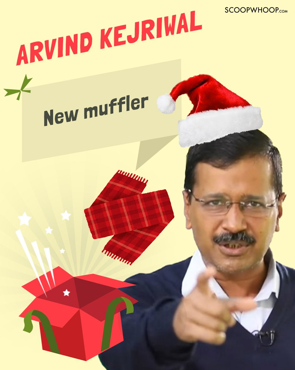 If Santa Claus Decided To Deliver Gifts To Indian Politicians, This
