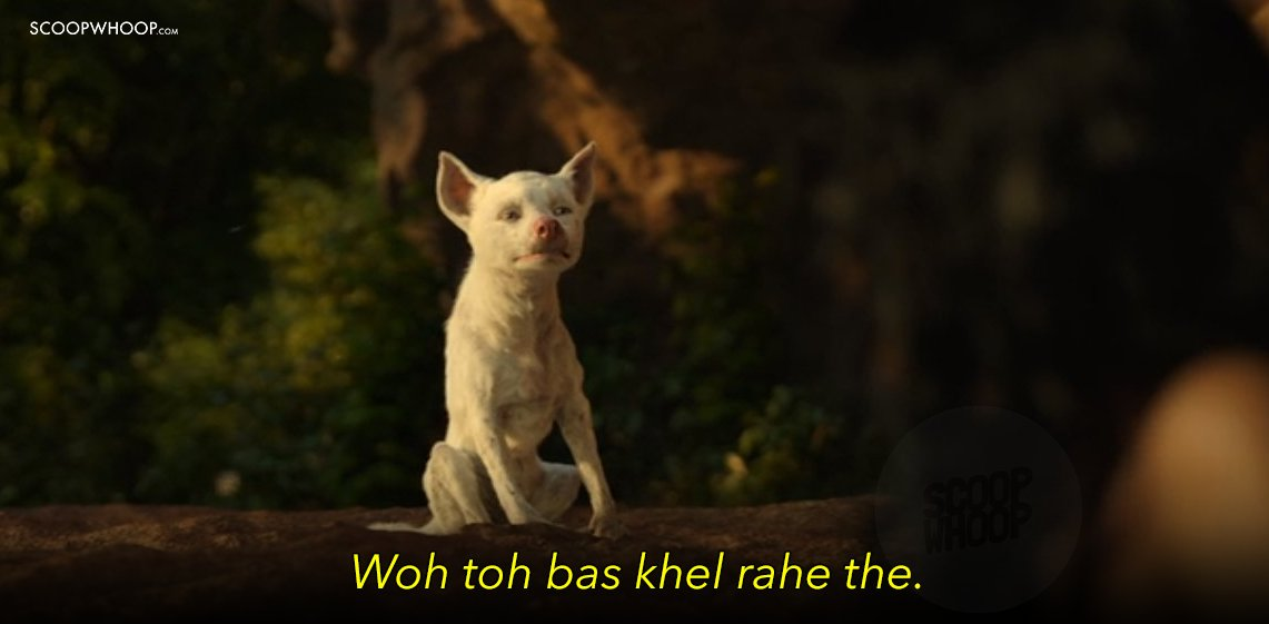 A Tribute To Bhoot, The Little White Wolf Cub In 'Mowgli
