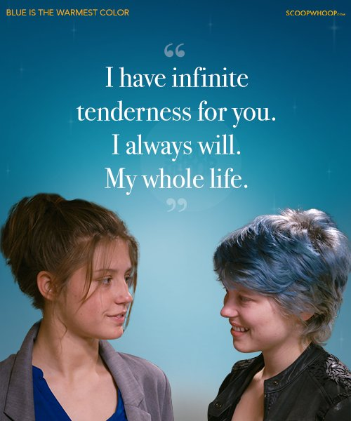 12 Quotes From 'Blue Is The Warmest Colour' That Prove Love