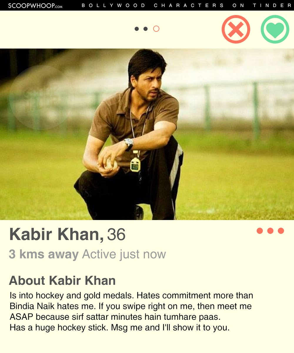 Celebrity tinder profiles fort