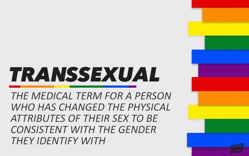 Sexualities list and definitions