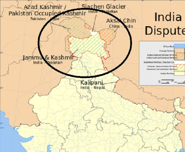 Kashmir Missing From India\'s Map; Facebook CEO, Chinese Footage ...