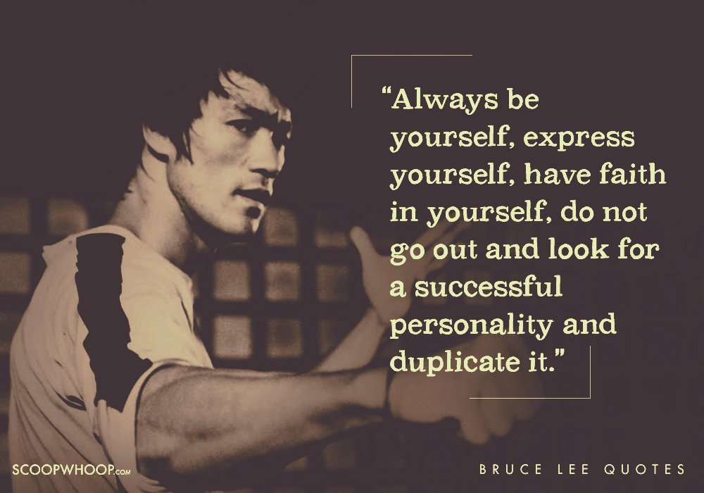15 Quotes By Bruce Lee That Prove He Could Kick Ass Both ...