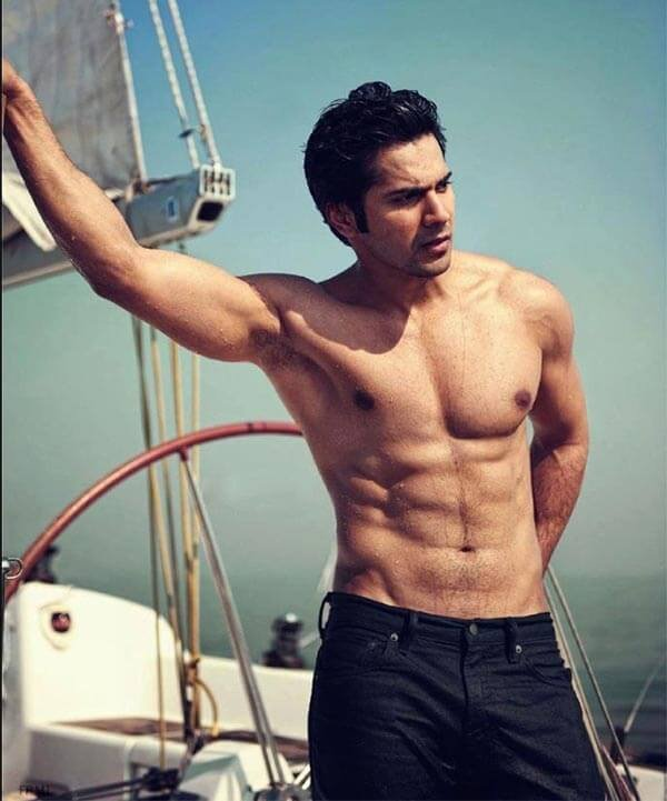 Varun Dhawan Posted A Photo Of His 8 Pack Abs But People Spotted
