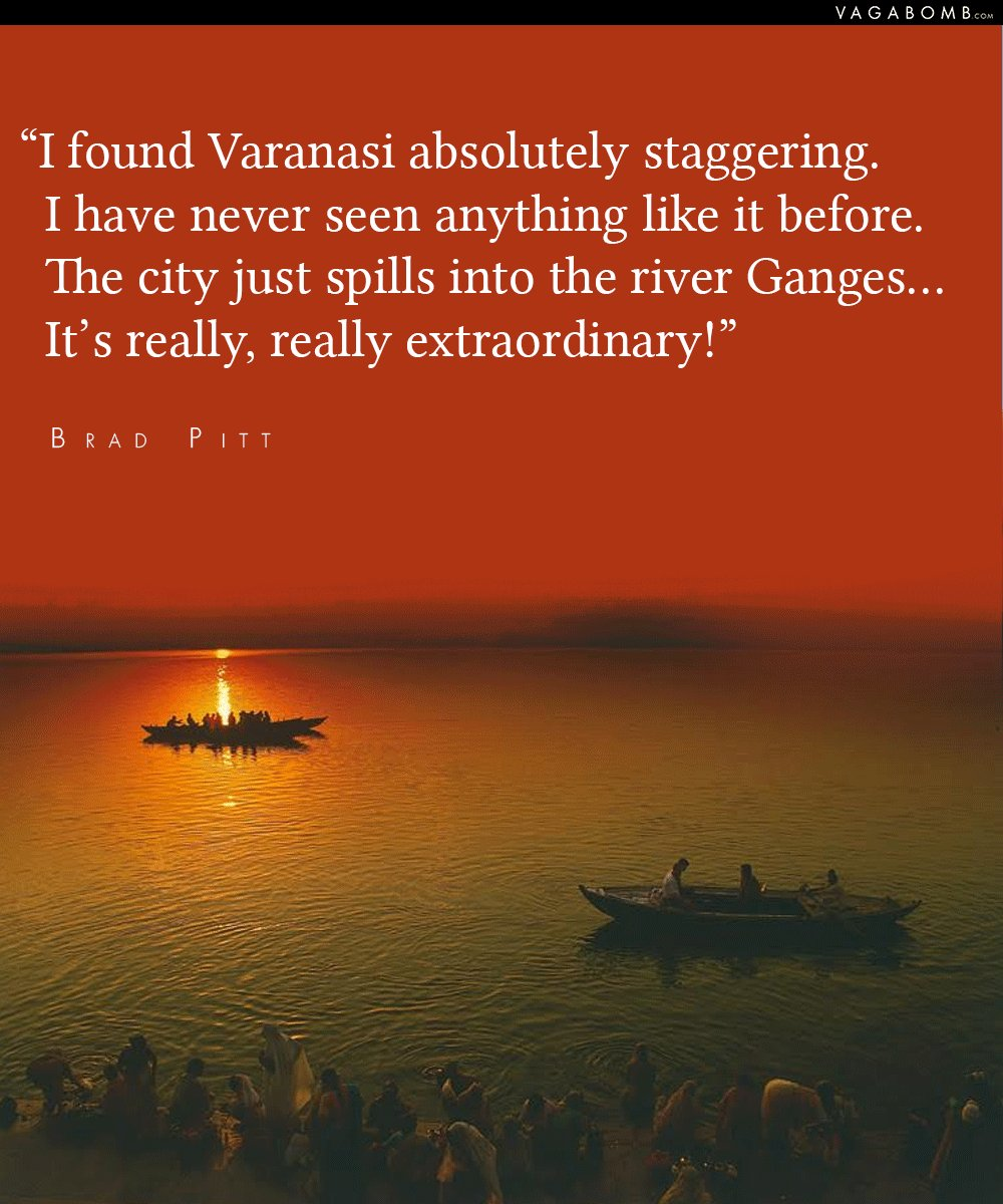 Several People Have Spoken About The City Its Winding Alleys And Its Mystic Spirituality We Bring You  Such Quotes That Prove Why People Can Never Get