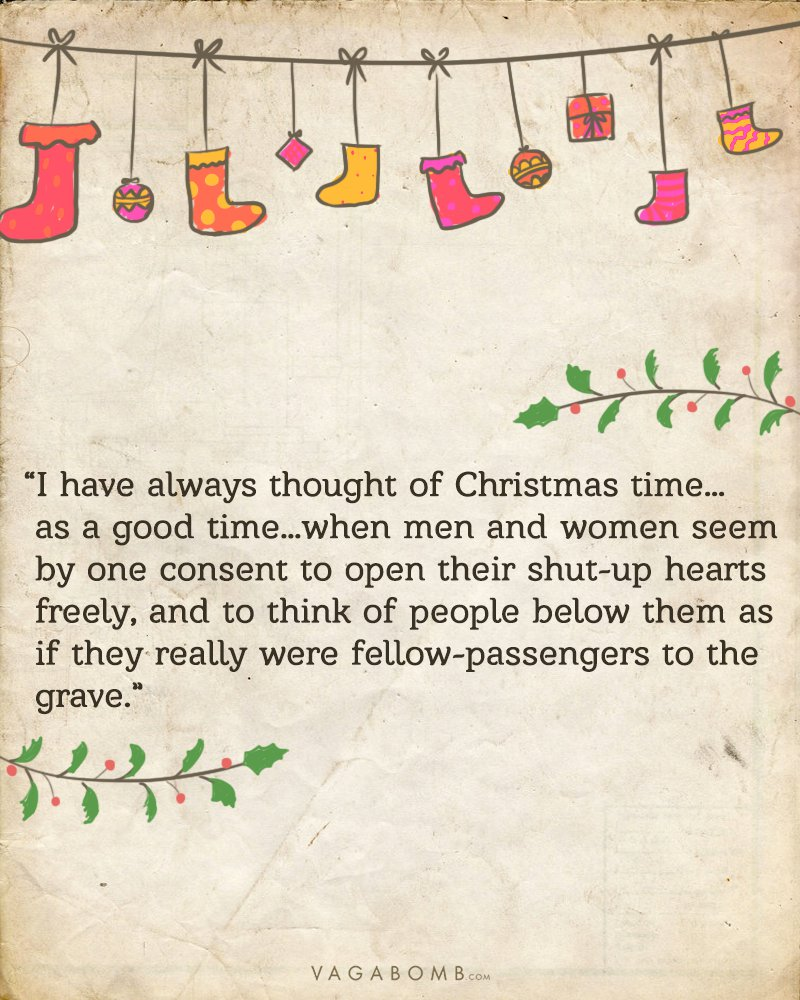 To celebrate the spirit of christmas we bring to you 10 quotes from this beautiful book