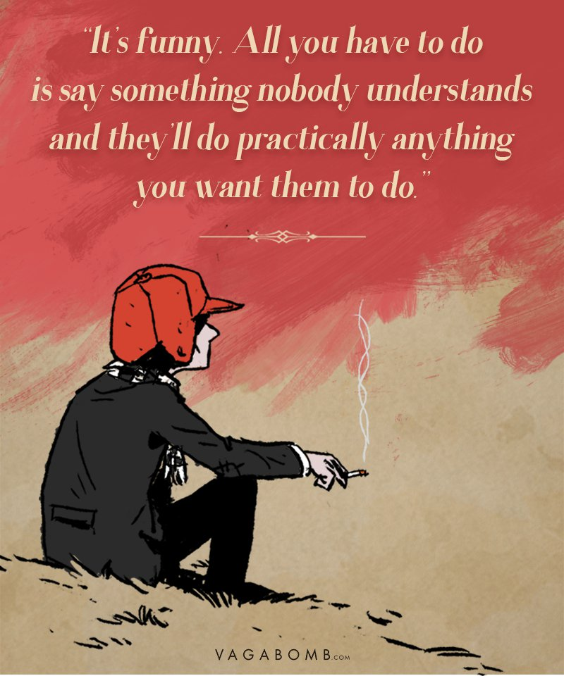 Image result for catcher in the rye quotes