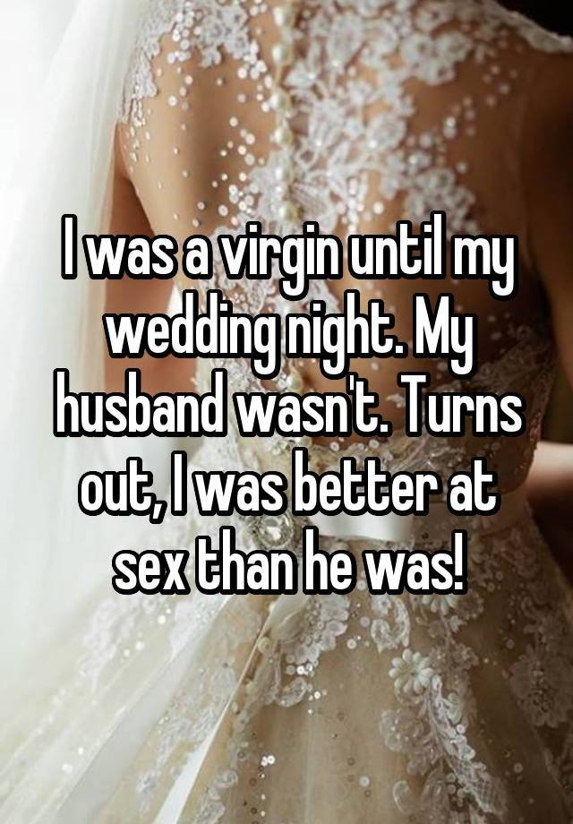 Marriage and losing virginity