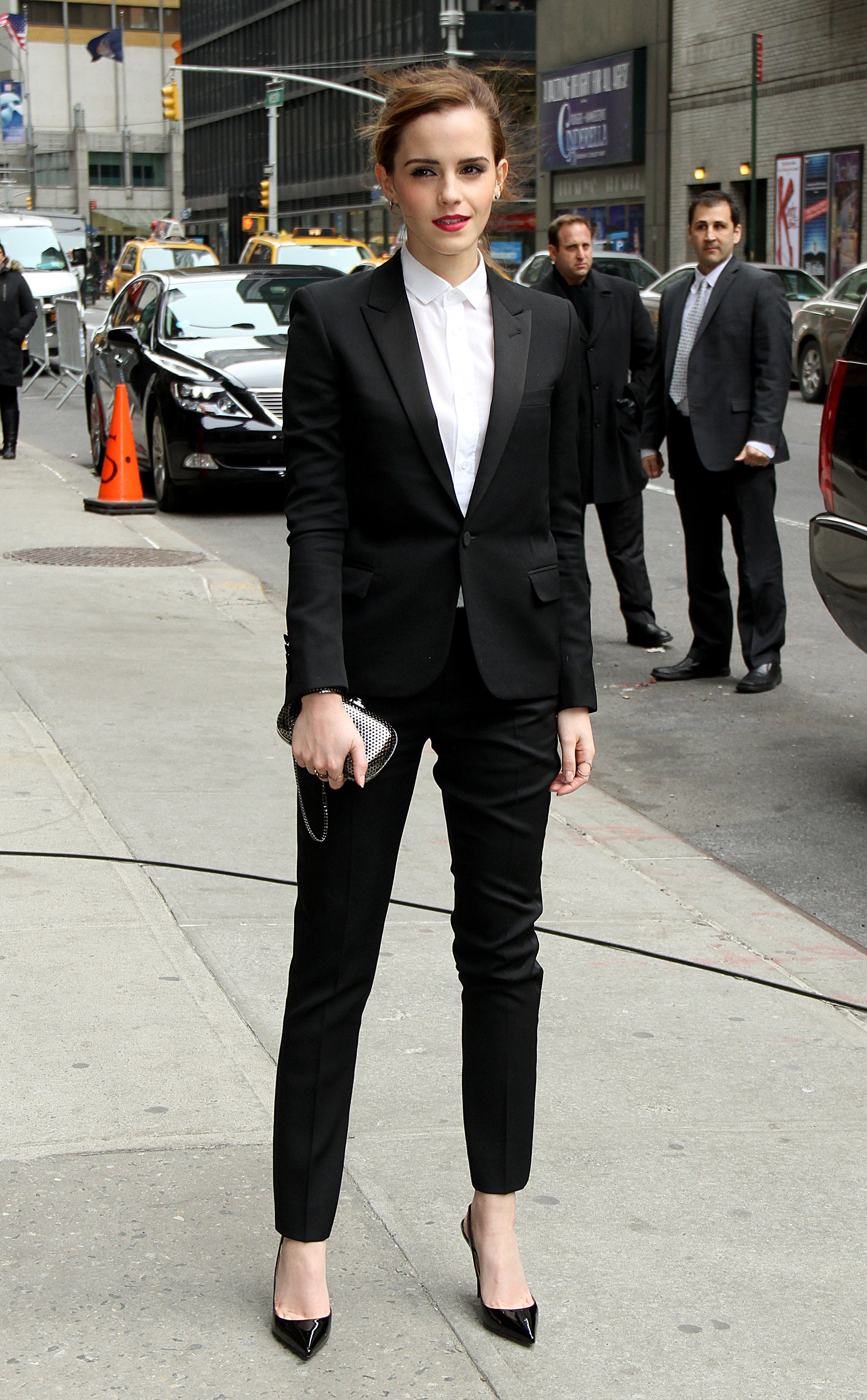 Just 15 Photos Of Women Wearing Suits Which Show That They Should Be Best Left To Men