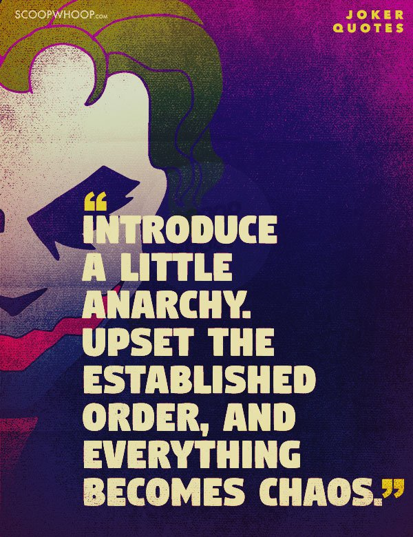 18 Quotes By The Joker That Reflect The Madness That Is ...