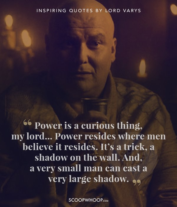 13 Quotes By Lord Varys From Game Of Thrones That Are All ...