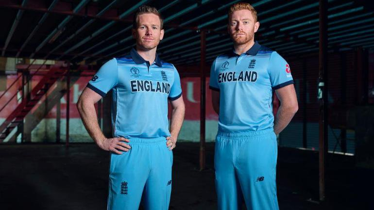 england being the host will be allowed to play in their newly launched blue kit which is very similar to their 1992 world cup campaign