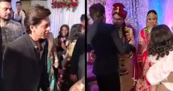 SRK Surprises Guests By Showing Up For Hairstylist's Sister's Wedding