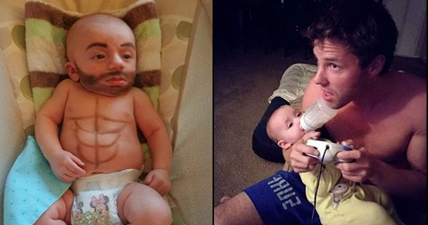 Just 25 Pics Of Dads Hanging Out With Kids While Moms Are Away