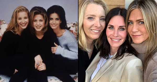 Courtney Cox's Birthday Pic With Lisa & Jennifer, 15 Years After 'FRIENDS' Ended Is BFF Goals