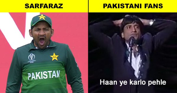 Sarfaraz Yawning During India-Pak Match Is Internet's Favourite Meme From Last Night's Game