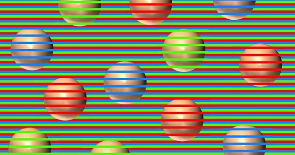 All The Balls In This Optical Illusion Are Actually The Same Colour But The Web Doesn't Believe It