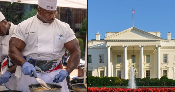 Meet Andre Rush, The White House Chef Whose Biceps Are Bigger Than The Meals Served There