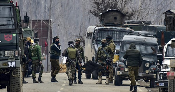 Army Vehicle Attacked With IED In Pulwama, Encounter Underway