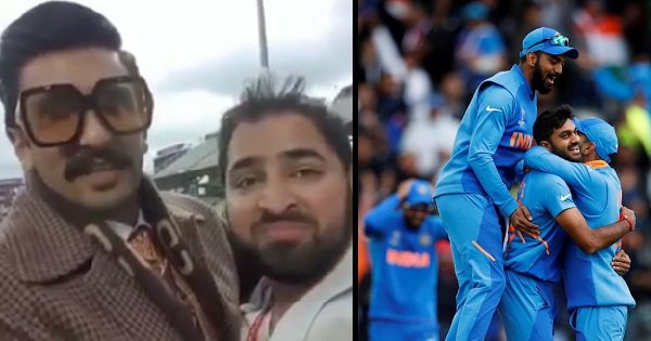 Ranveer Singh Consoles A Pakistani Fan After India Defeated Them In The World Cup