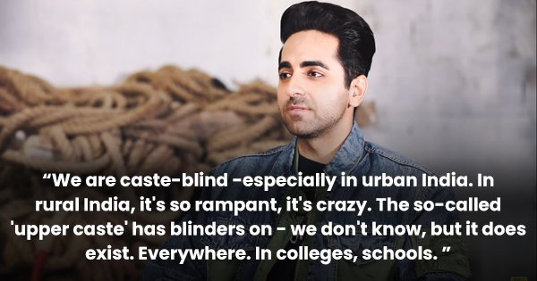 Ayushmann Khurrana Talks About His Latest Film 'Article 15' & The Need To Tell Important Stories