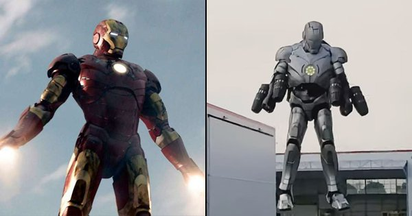 This Man Just Made A Real-Life Bulletproof Iron Man Suit. Tony Stark Would Be Proud