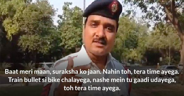 This Delhi Traffic Cop Just Made Ranveer Singh's 'Apna Time Aayega' Into A Traffic Safety Anthem