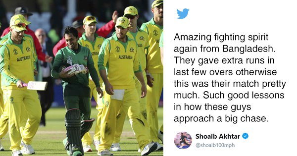 The Internet Was Full Of Praise After Bangladesh's Valiant Run-Chase Against Australia Last Night