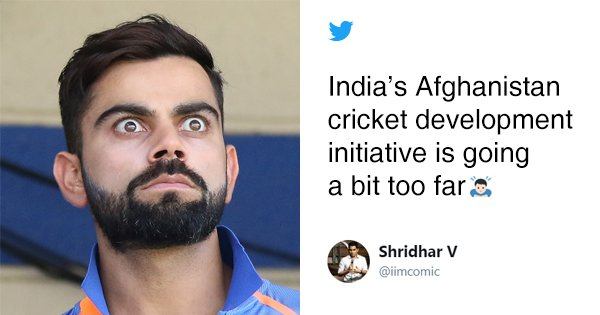 After India's Batting Collapse Against Afghanistan The Only Thing Making Us Smile Was Twitter