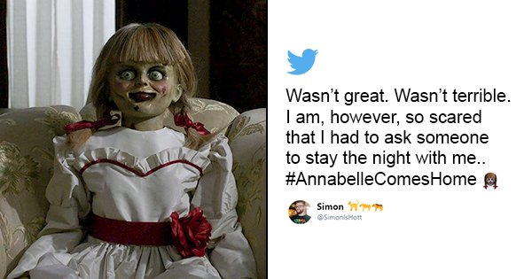 23 Tweets To Read Before Booking Your Tickets For 'Annabelle Comes Home'