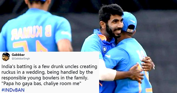 India Confirmed Their Place In The Semis But As, Twitter Will Confirm, It Wasn't Easy