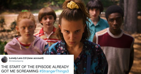 21 Tweets You Should Read Before You Start Binging On Season 3 Of 'Stranger Things'