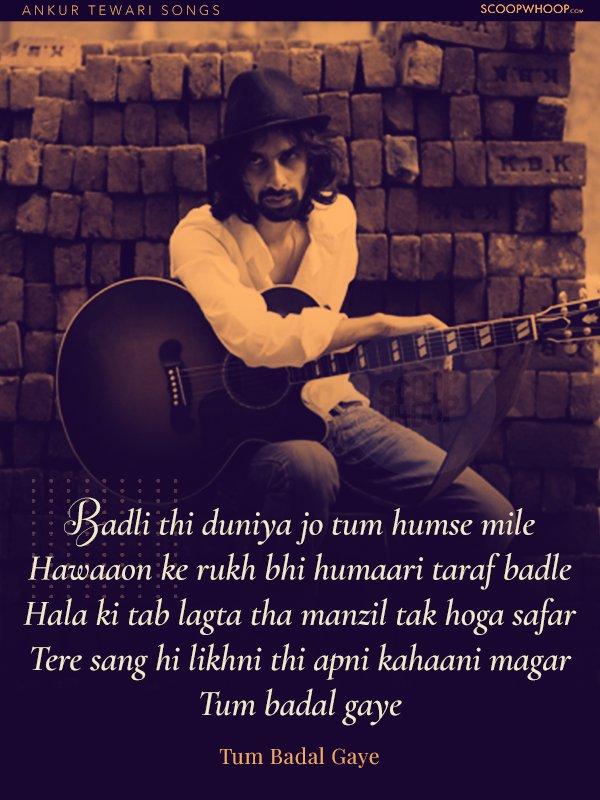 17 Songs By Ankur Tewari That Sum Up Love, Friendship