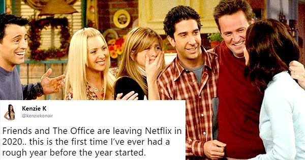 FRIENDS Is Soon Going To Exit Netflix Making The Internet Ask
