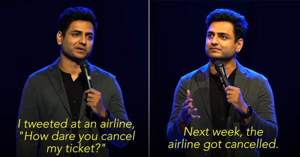 Kenny Sebastian's Latest Set On Flying, Airports & Travel In India Is Just 'Plane' Awesome