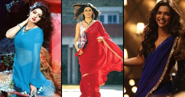 These 17 Iconic Drapes Are The Ultimate Saree Moments In Bollywood's History