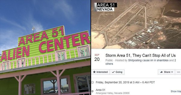 Meet The Guy Who Started The 'Storm Area 51' Event That's Now Become A Worldwide Phenomenon