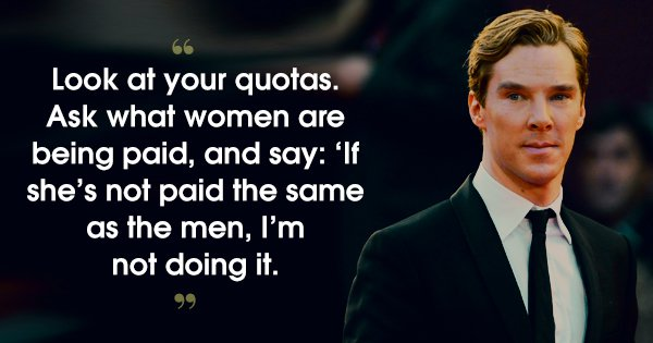 16 Quotes By Benedict Cumberbatch That Show His Real Superpower Is To Charm Our Pants Off