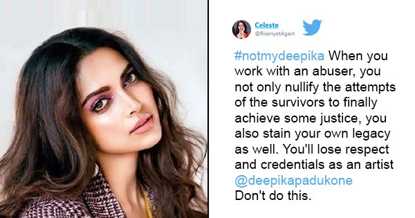 #NotMyDeepika Trends On Twitter, Fans Protest Amid Rumours Of Deepika Working With #MeToo Accused