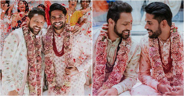 Internet Showers Adorable Grooms With Love As Pictures Of Their Wedding Go Viral