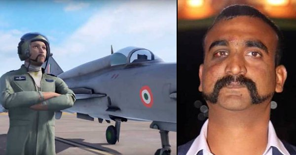 Move Over PUBG, Indian Air Force Releases Mobile Video Game with Lead Resembling Wg Cdr Abhinandan